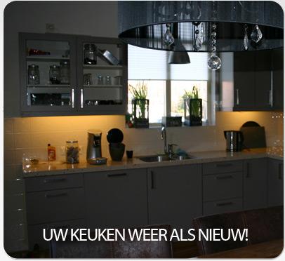 Uw keuken weer als nieuw